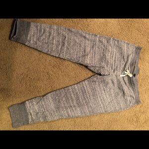 Gray cotton JCrew joggers
